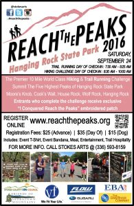 Reach The Peaks 2016 Poster